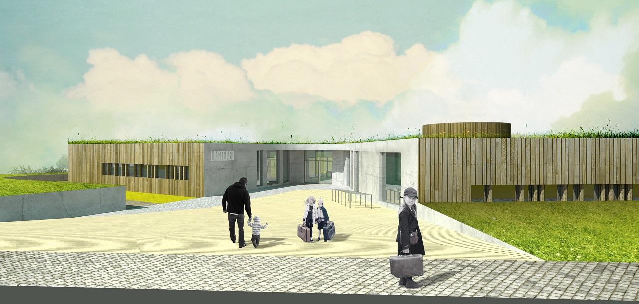 Palamuse lasteaia arhitektuurivõistluse 1. KOHT